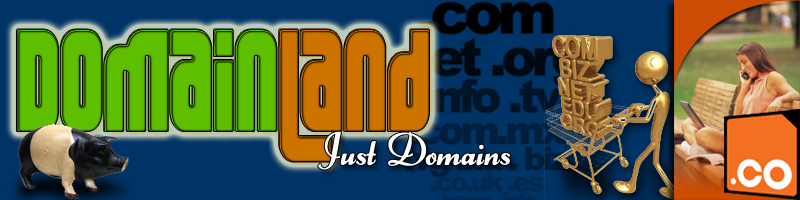 Domain Land  -  Just Domains